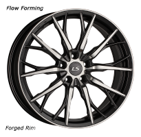 LS Wheels Flow Forming RC11 8x19/5x112 D66.6 ET39